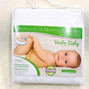 👶🏼 Bamboo Crib Mattress Protector
